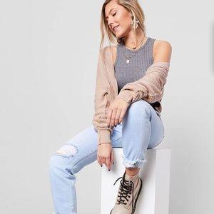NWOT FREE PEOPLE Moon River Cardigan Sweater-XL
